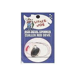 Lindy Little Joe Fishing Tackle Red Devil Spinner #4 Hook Size 3