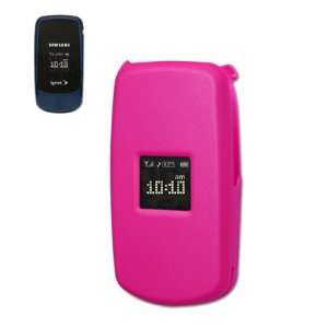 Phone Case with belt clip for Samsung M220 Sprint   Hot Pink Cell