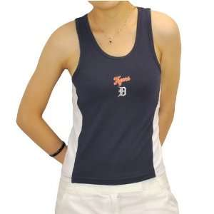 Womens MLB Detroit Tigers Baseball Tank Top Jersey: Sports
