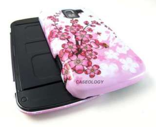 PINK JAPAN FLOWERS HARD CASE COVER LG OPTIMUS SLIDER Q NET10 PHONE