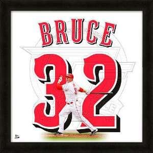 Cincinnati Reds Jay Bruce 20x20 Uniframe Sports