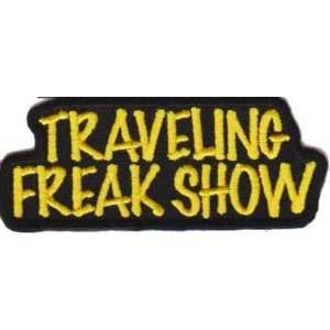 Freak Show Fun Embroidered Biker Vest Patch!!: Everything Else