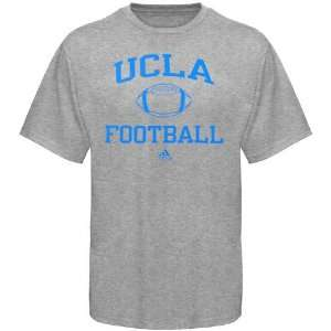 adidas UCLA Bruins Ash Collegiate Football T shirt