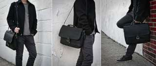 Brand New Durable High Quality Soft Leather Mans Laptop Briefcase