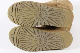 UGG Australia Brown Suede Boots Fleece Lined 6
