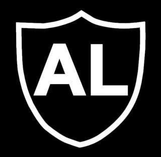 AL DAVIS Oakland Raiders Vinyl Decal Sticker 5 x 5
