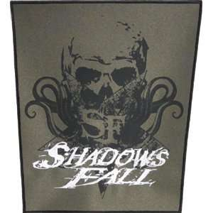 SHADOWS FALL SKULL BACK PATCH Arts, Crafts & Sewing