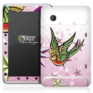 Design Skins for HTC Flyer   Wedding Swallows Design Folie