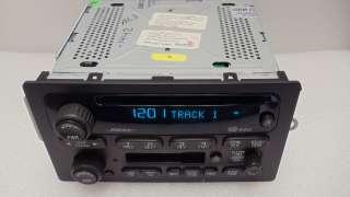 GMC Envoy CHEVY Trailblazer Radio Tape Stereo CD Player BOSE XL EXT 02