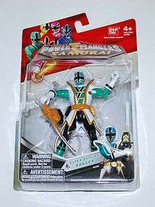 Power Rangers 4 SUPER SAMURAI FOREST GREEN RANGER Action Figure Toy