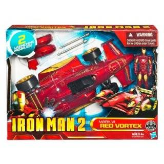 Iron Man 2   3.75 Battle Vehicle   Mark VI Red Vortex