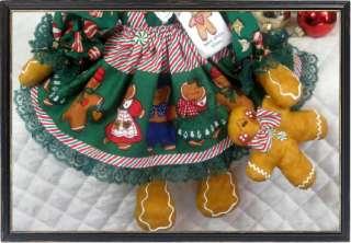 Gingerbread Folk Art Christmas Doll w/Baby~Adorable♥