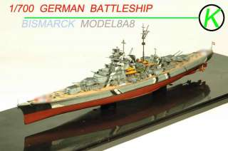 BUILT 1/700 ◆★ GERMAN BATTLESHIP Bismarck◆★