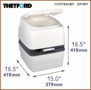 Thetford 365 Porta Potti Portable RV Camping Toilet NEW