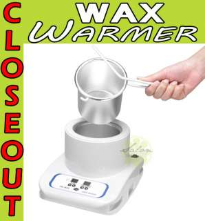 DIGITAL Portable Hot Wax Warmer Heater Salon Facial Skin SPA Equipment