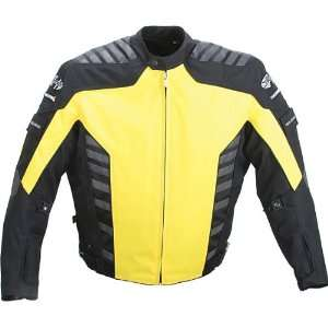 JOE ROCKET AIRBORNE TEXTILE JACKET YELLOW/BLACK LG