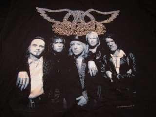 Aerosmith Nine Lives Tour T Shirt size X LArge