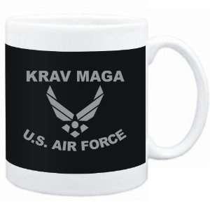 Mug Black  Krav Maga   U.S. AIR FORCE  Sports  Sports