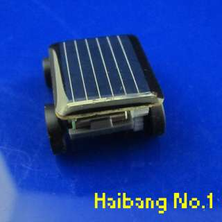 Smallest Mini Solar Powered Robot Racing Car Toy Gadget