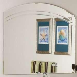 SSM1065 Decor Angel Large Frameless Wall Mirror Furniture & Decor