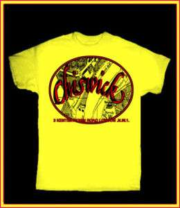CHISWICK RECORDS YELLOW T SHIRT PUNK 77 UK PUB ROCK LP