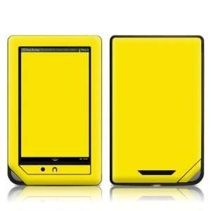 State Yellow Design Protective Decal Skin Sticker for Barnes and Noble