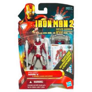IRON MAN 2 MOVIE CONCEPT SERIES MARK V SUITCASE MISSILE