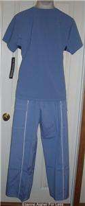 NWT Medical Scrubs Uniform, Luxury Touch Stretch Lg.