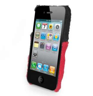 Red Bow+Polka Dot Hard Back Case Cover Skin for Apple iPhone 4S 4 4G