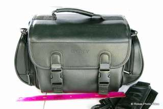 Genuine Sony Camera Photo case shoulder bag leather