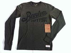 ARMY GREEN REVOLVER Long Sleeve t shirt, S M, L, XL, $70 NWT