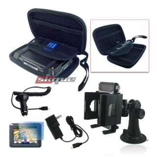 5in1 case bundle accessories for garmin nuvi 4.3 gps EVA Pouch Case
