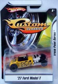 HOT WHEELS Diecast150 Custom Classics 27 Ford Model T