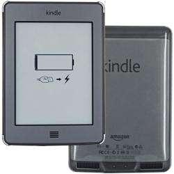 SKQUE  Kindle Touch Clear Plastic Case
