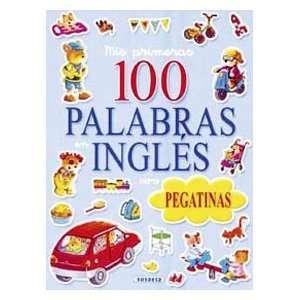 Las 100 palabras en ingles (con pegatinas) (9788430560738