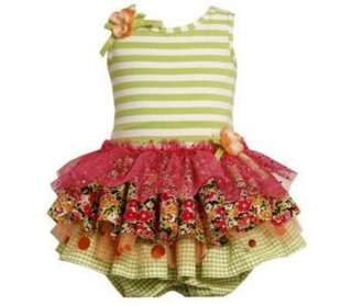 Baby Girls Bonnie Jean Tiered Dress Size 3 6 Months Spring Easter