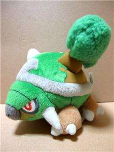 POKEMON Torterra UFO Soft Plush Doll Japan Pokedoll