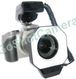 Macro Ring light Flash for Sony DSLR A350 A300 A200 NEW