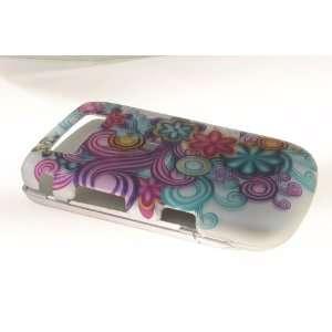 Blackberry Torch 9800 Hard Case Cover for PR/BL Flower