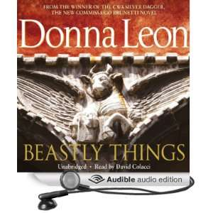Beastly Things A Commissario Guido Brunetti Mystery, Book