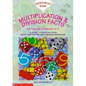 Multiplication and Division Facts KS2 (Resource Bank Maths