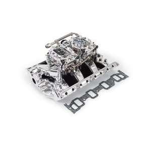 Edelbrock Performer RPM Dual Quad Air Gap Manifold and