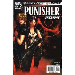 Punisher 2099, #1 (Comic Book) Marvel Knights ROBERT