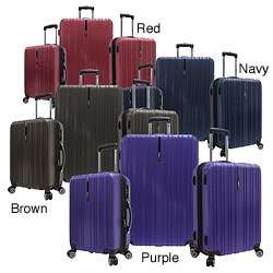 Tasmania Polycarbonate 3 piece Expandable 8 wheel Spinner Luggage Set