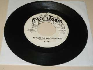 DOOWOP 45RPM RECORD HE RIFFS PROMO OLD OWN 1179 |