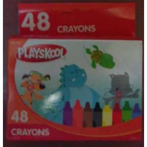 48 Crayons by Playskool