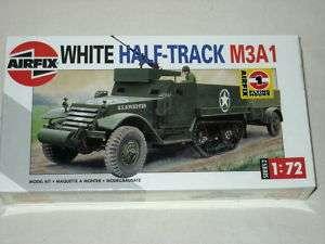 Airfix Series 2 White Half Track M3A1 172 Model Kit