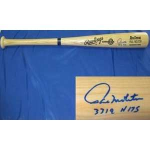 Paul Molitor Signed Blonde Rawlings Baseball Bat   3319 Hits