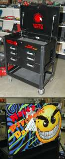 Matco 5 Drawer Rolling Tool Box w/Chaos Comics Psychotic Day Graphic P