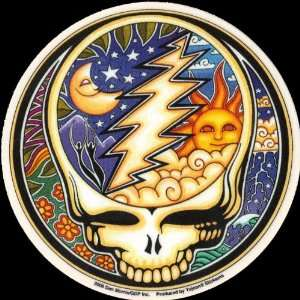 Grateful Dead Music Hippie Stickers Art Hippy Decals